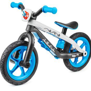 Легкий беговел в стиле трюкового Chillafish BMXie красный (резиновые колеса)